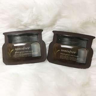 Innisfree Black greentea Mask sampler