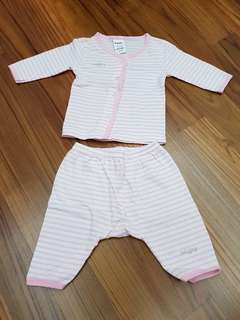 Preloved Tollyjoy Baby Girl Clothes in pink & white