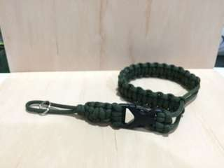 Camera strap with buckle