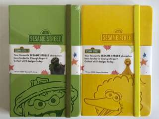 Sesame Street Notebook from Changi Airport