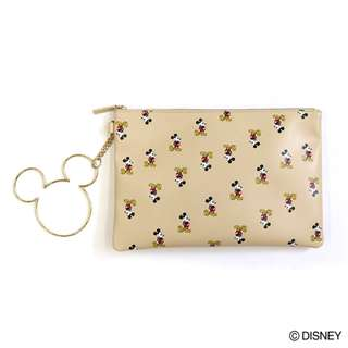 Japan Disney Accommode Mickey Mouse Ring Pouch