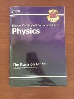 Edexcel IGCSE Physics CGP Revision Guide