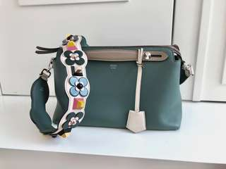 "Fendi By The Way Small Bag with ""Strap You"" Multi colour Strap"