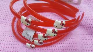 Hello Kitty Six Hair Bands