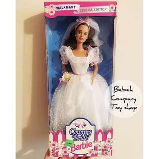 Mattel 1994 Walmart Country bride Barbie 絕版 古董 新娘 芭比娃娃 芭比 全新