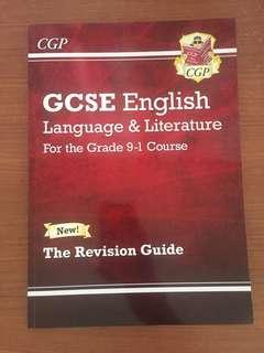 GCSE English Language & Literature CGP Revision Guide