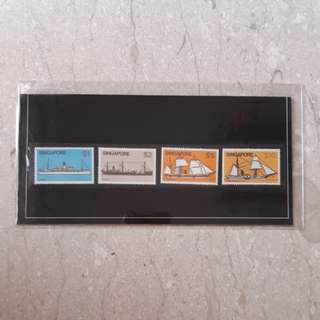 Singapore  Stamps 1980