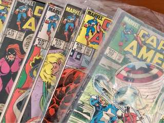 Captain America (#302-349)-46 comics
