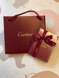 Cartier香水小禮盒