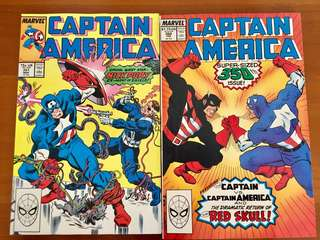 Special Captain America 350th issue