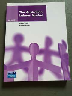 The Australian Labour Market (Human Resource Economies)