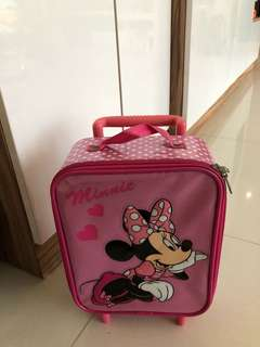Minnie Mouse Small Luggage