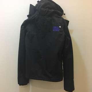 🚚 SuperDry 紫黑外套