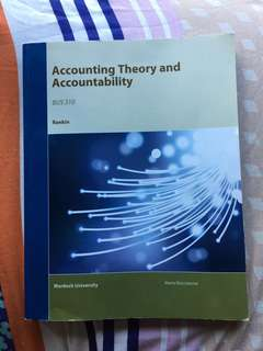 Accounting Theory and Accountability