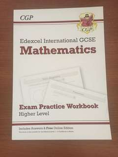 Edexcel IGCSE Mathematics CGP Exam Practice Workbook