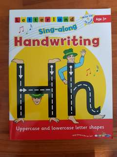 Letterland Sing-along Handwriting Activity Book