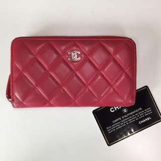CHANEL CRUISE SMALL ZIP AROUND WALLET