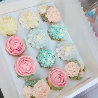 母親節cupcakes