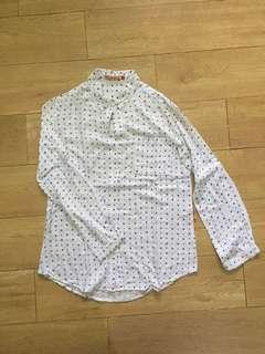 kemeja putih halus