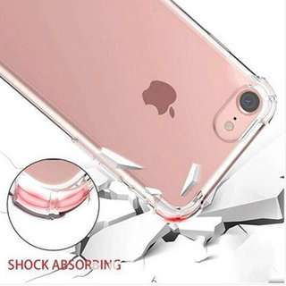 Transparent clear slim iPhone case