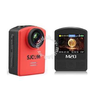 SJCam M20 Red w/ Stick & Extra Battery
