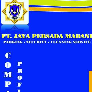 Jasa parking, security and cleaning service