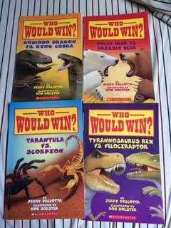 Children's book - Scholastic books bundle