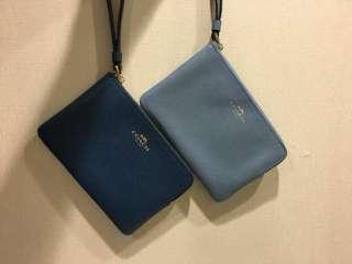 Coach mini clutch bag/wallet