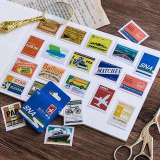 (PO) Travel Stamp Stickers