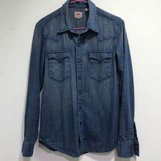 🚚 Levis 日本購回 刷色 牛仔襯衫