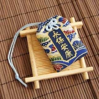 日式 手機 電話 手袋 掛飾 護身符 御守 保佑 平安 健康