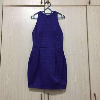 Price Reduced RM20!! Asos Dress In Purple - Petite Uk8