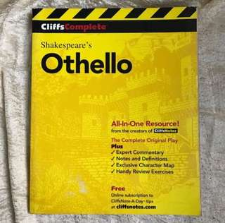 Cliffscomplete shakespeare's othello