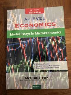 A LEVEL - Micro and Macro Model essays textbook