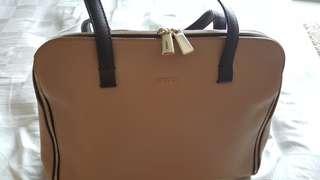 Furla Beige Handbag
