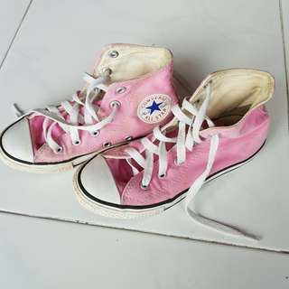 Used Converse High Cut Sneakers