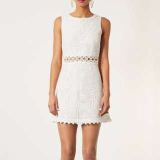 Price Reduced RM35 Topshop Lace Dress UK8