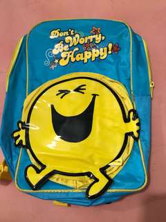 Mr Happy backpack