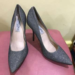 Size38 Authentic Jimmy Choo Pumps (Glittery)