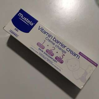 Mustela-Vitamin barrier cream
