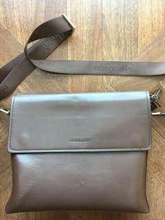 Obermain genuine leather sling bag