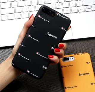 Supreme x Champion Phone case