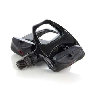 (Discount) Original Black Shimano R540 Pedals With Shimano SH11 Cleats (Road Bike, Hybrid)