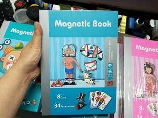 小朋友出行唔一定要玩電話---Magnetic book 磁石貼玩具書(男仔職業)