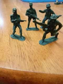 Vintage combat toys