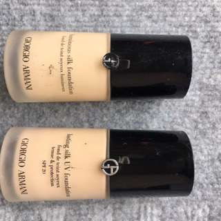 Giorgio Armani 粉底液 Luminous / Lasting Silk