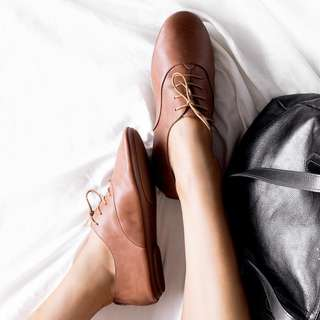 High Quality! Brown Leather Shoes from Anothersole