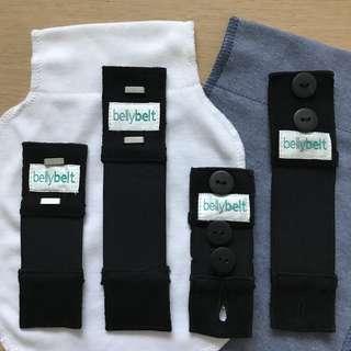 Belly Belt Combo Kit - 2 x button up & 2 x slide