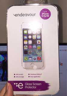 iPhone 5/5s/SE glass screen protector
