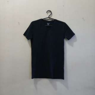 Black VNeck Shirt